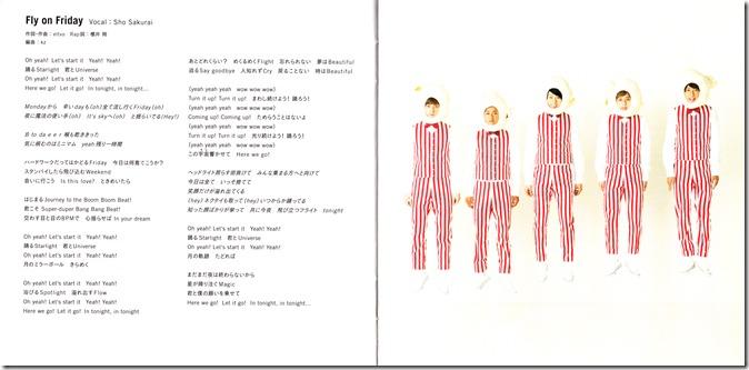 ARASHI Popcorn lyric booklet scan complete (10)