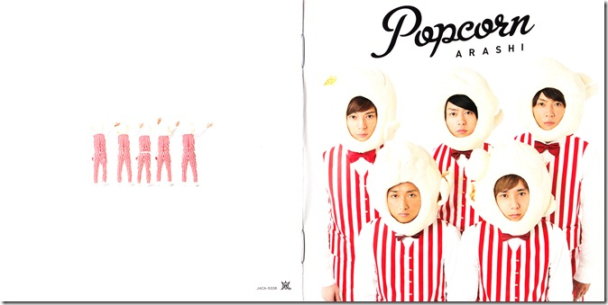 ARASHI Popcorn lyric booklet scan complete (1)