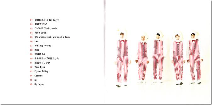 ARASHI Popcorn lyric booklet scan complete (2)