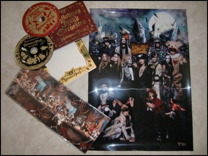 Halloween Junky Orchestra Halloween Party LE with DVD & first press poster