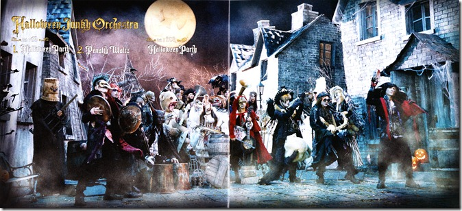 Halloween Junky Orchestra Halloween Party photo booklet complete