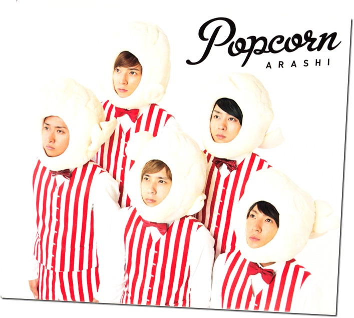 "ARASHI ""Popcorn"" Limited Edition slipcase (front scan)"