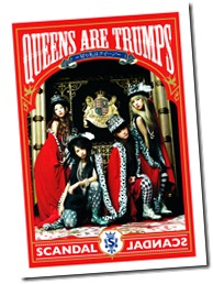 SCANDAL QUEENS ARE TRUMPS (LE photo booklet scans)