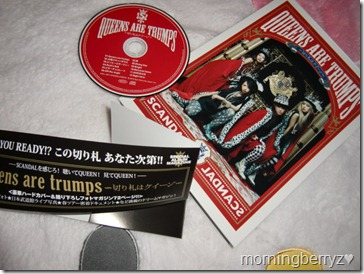 Scandal Queens Are Trumps LE album with hard cover 72 page booklet special packaging