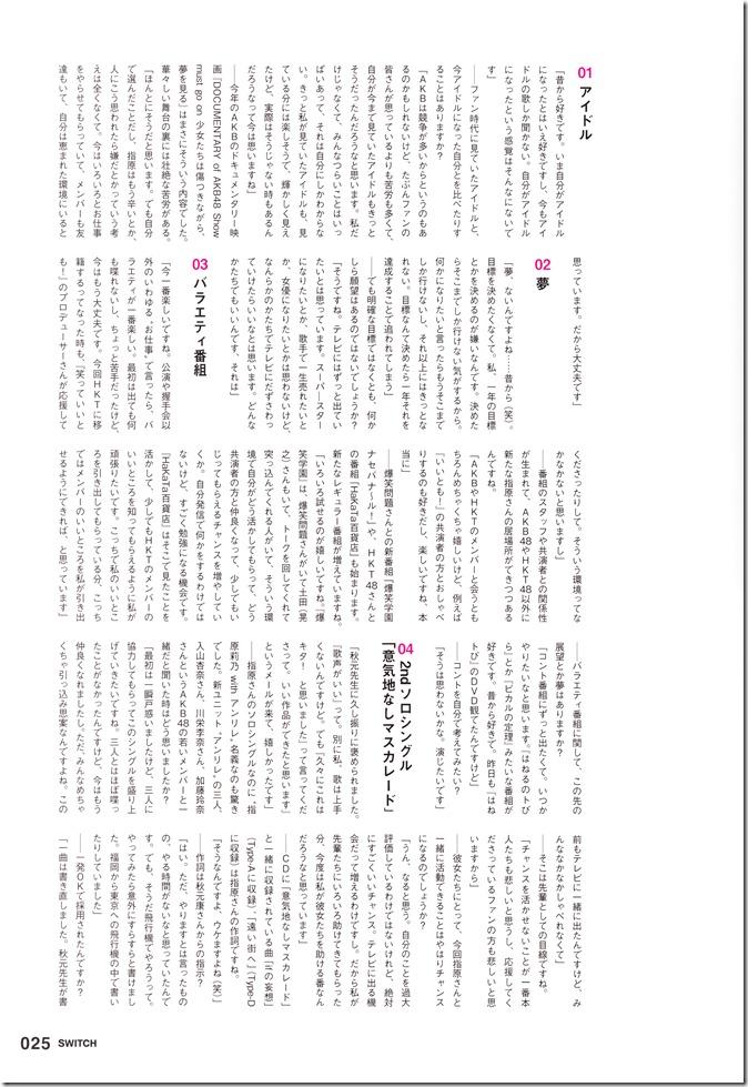 SWITCH November 2012 (Sashihara Rino) (11)