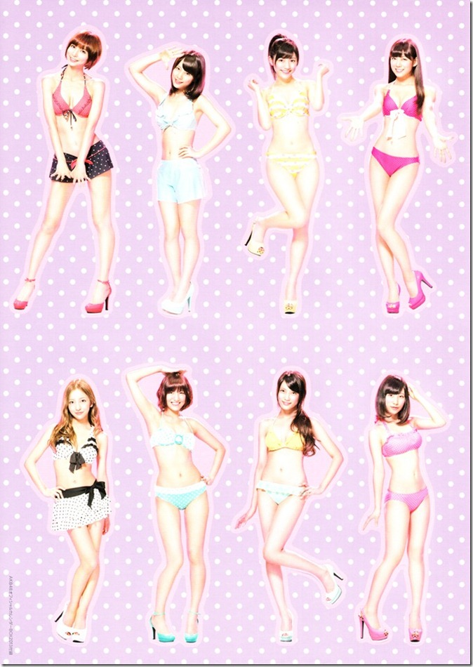 AKB48 2013 Official Calendar Box (scan) (14)