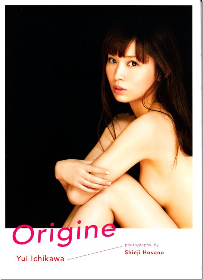 Ichikawa Yui shashinshuu Origine (2)