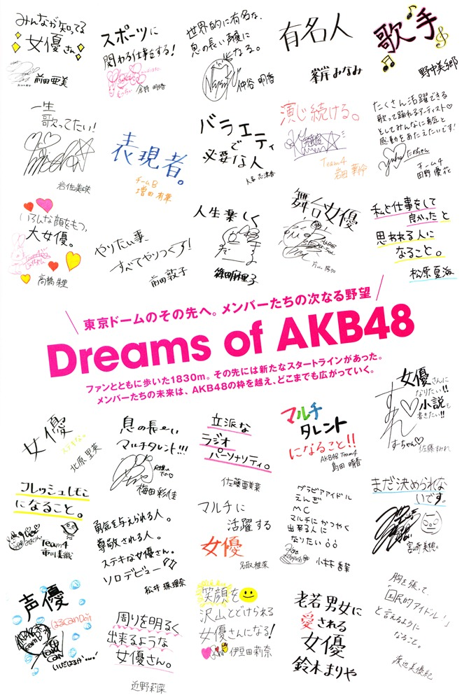 AKB48 in Tokyo Dome 1830m no yume...