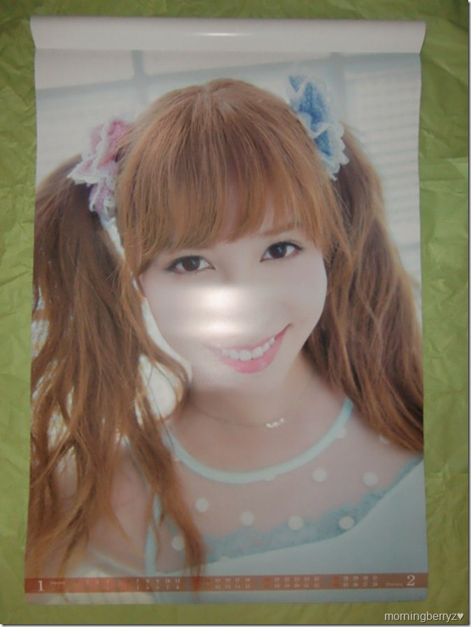 Kasai Tomomi 2013 B2 sized calendar complete (2)