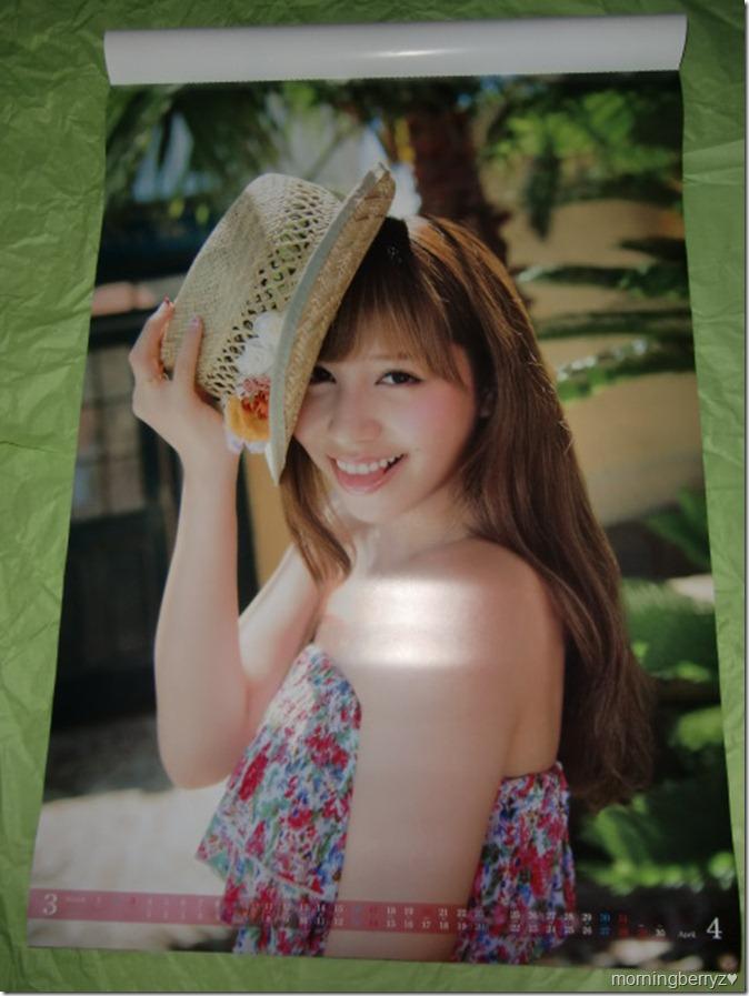Kasai Tomomi 2013 B2 sized calendar complete (3)