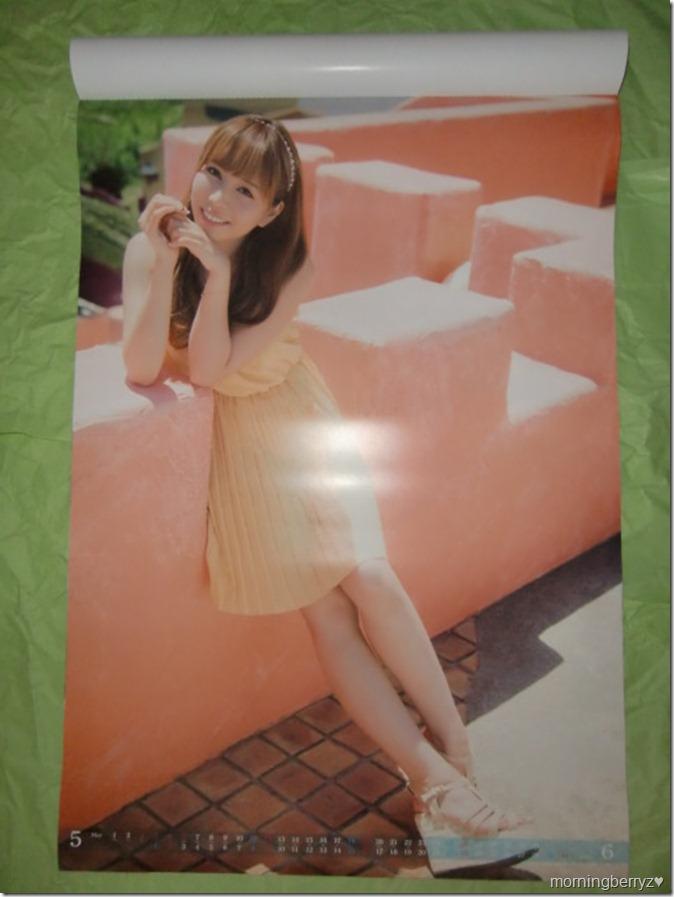Kasai Tomomi 2013 B2 sized calendar complete (4)