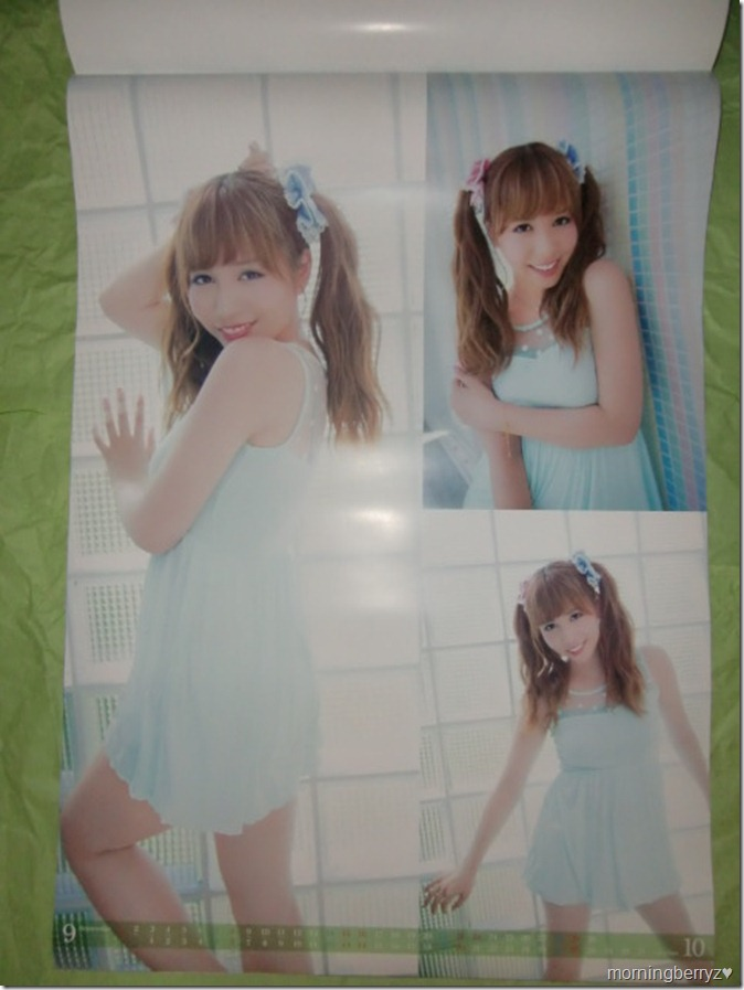 Kasai Tomomi 2013 B2 sized calendar complete (6)
