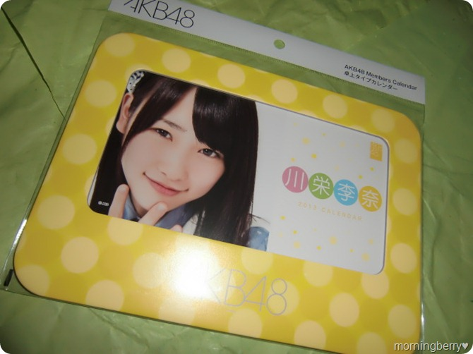 Kawaei Rina 2013 desk top calendar (1)