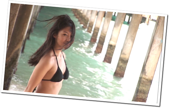 Koike Yui in PINK BREEZE in HAWAII♥ (113)