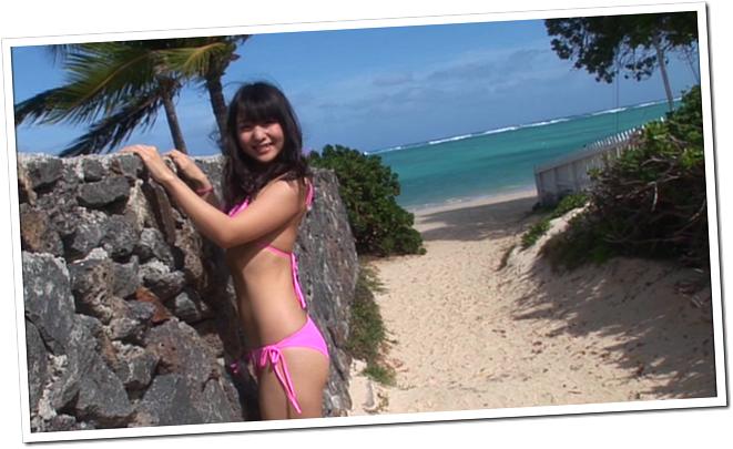 Koike Yui in PINK BREEZE in HAWAII♥ (12)