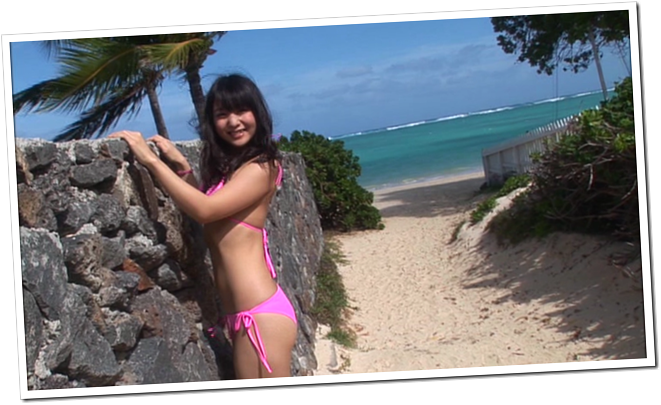 Koike Yui in PINK BREEZE in HAWAII♥ (12)