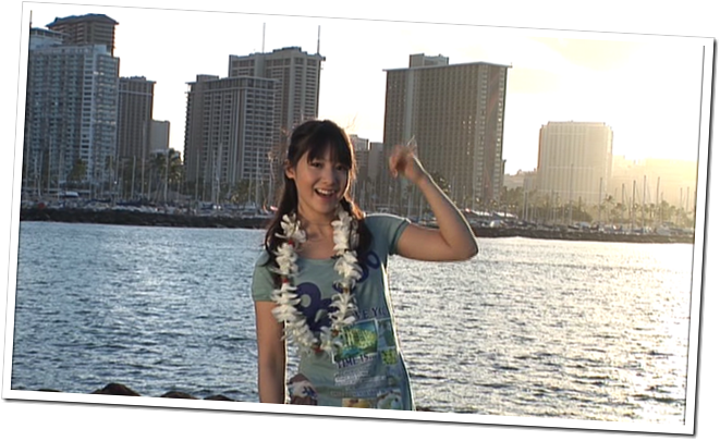 Koike Yui in PINK BREEZE in HAWAII♥ (7)