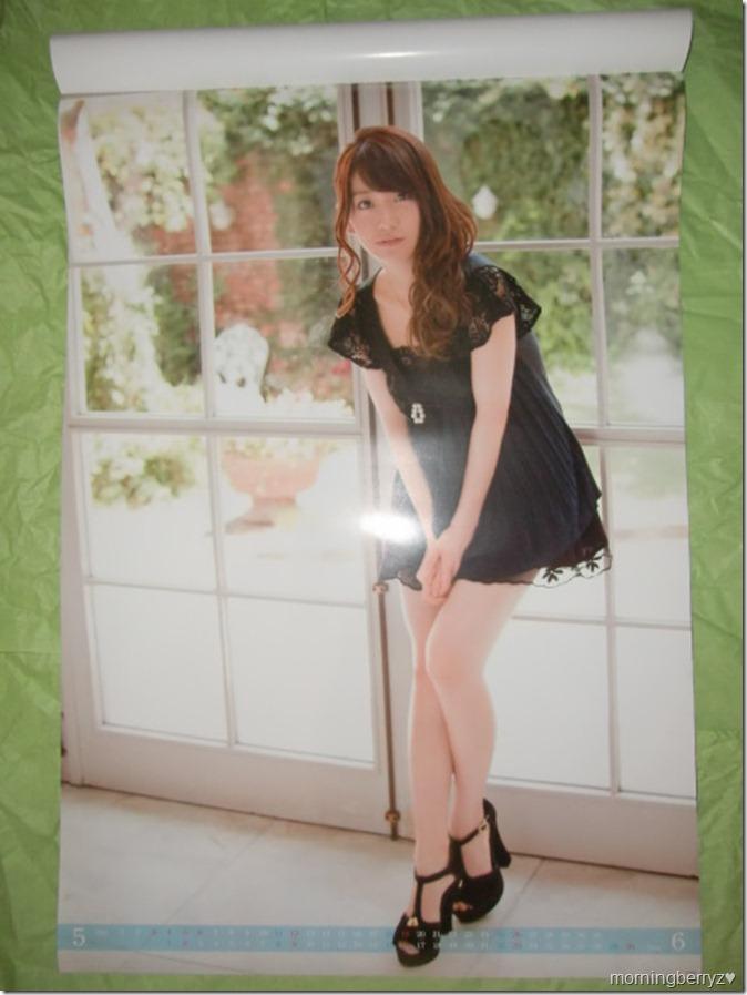 Oshima Yuko 2013 B2 sized calendar complete (4)