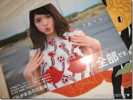 Umikore Kawashima Umika ~actress collection~ book
