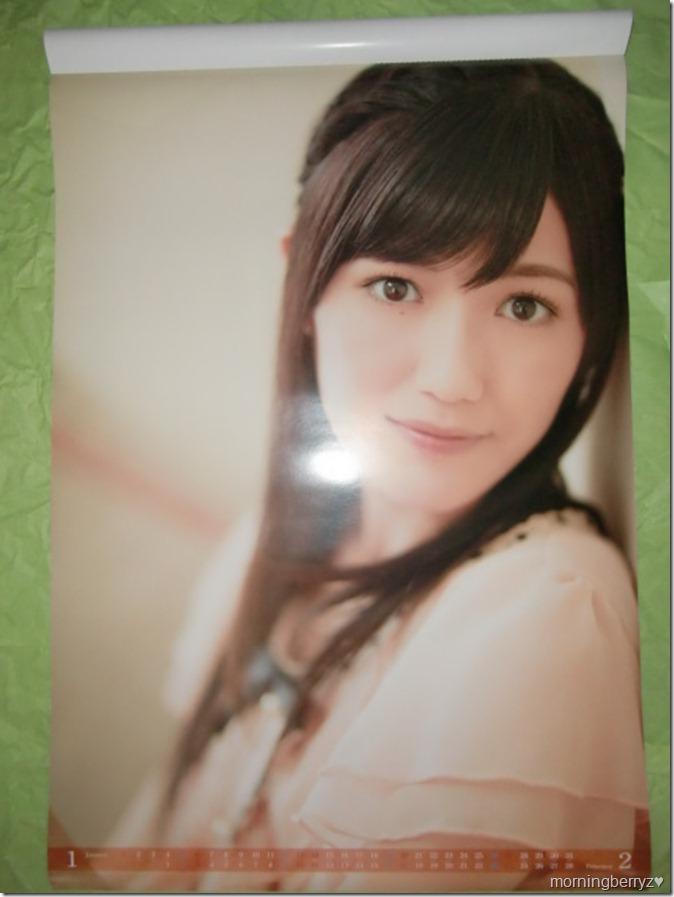 Watanabe Mayu 2013 B2 sized calendar complete (2)