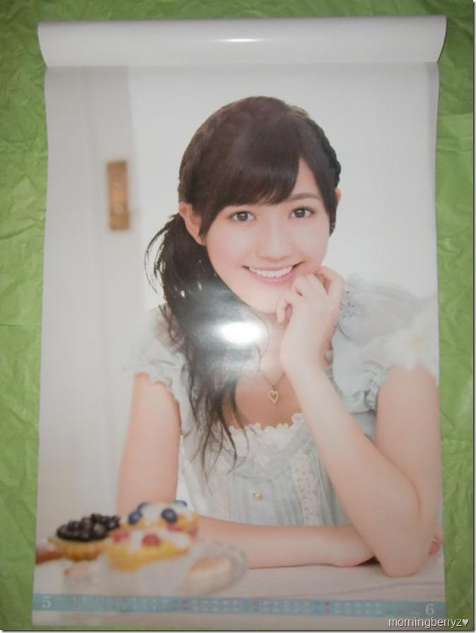 Watanabe Mayu 2013 B2 sized calendar complete (4)