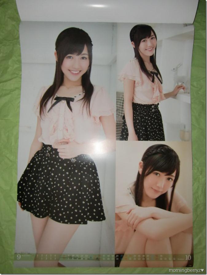 Watanabe Mayu 2013 B2 sized calendar complete (6)
