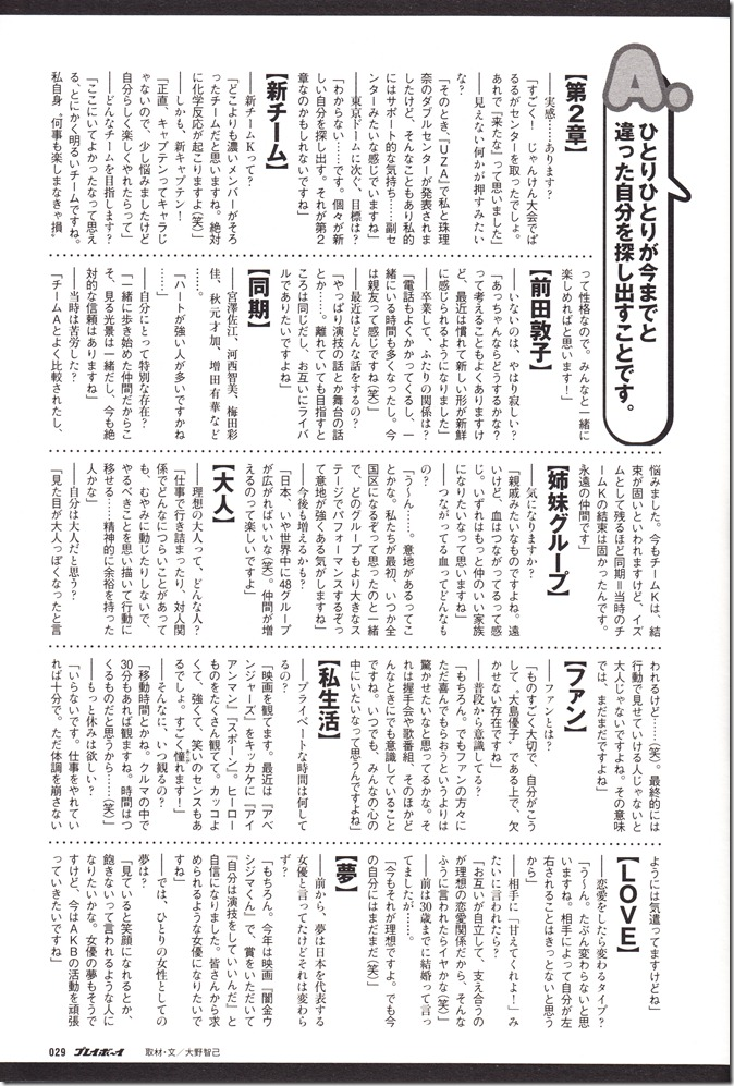 AKB48 in Weekly Playboy 2012.12 (24)