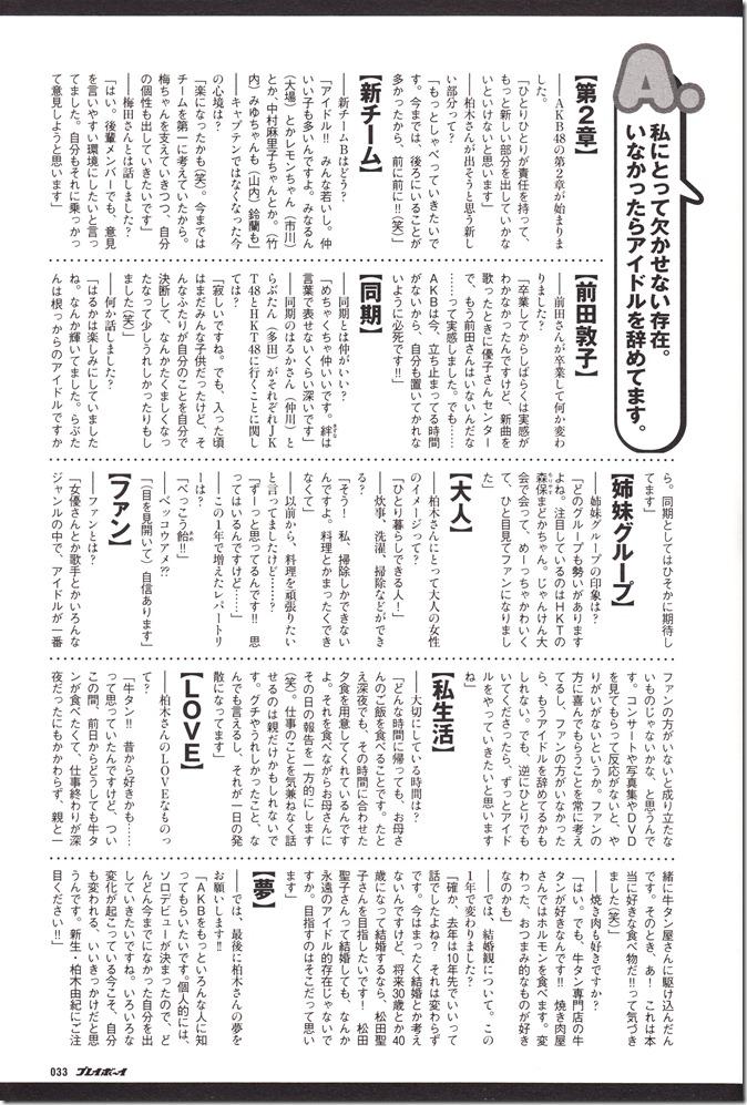 AKB48 in Weekly Playboy 2012.12 (28)