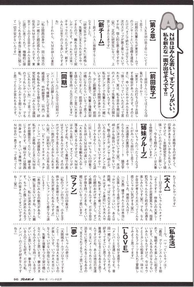 AKB48 in Weekly Playboy 2012.12 (40)