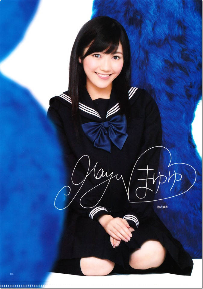AKB48 studio album recordings first press clear files complete set (3)