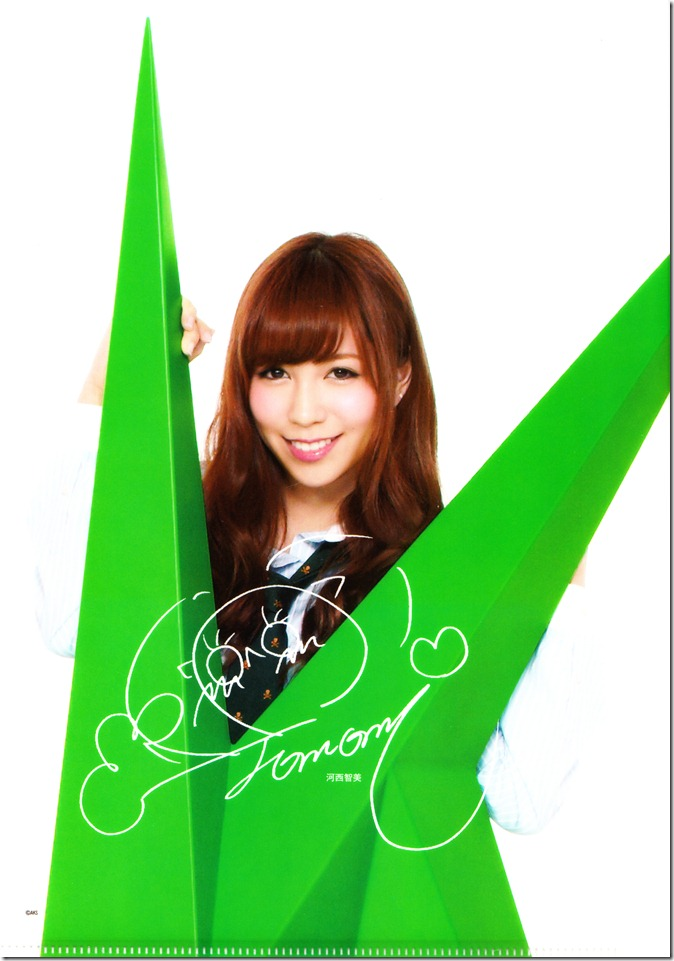 AKB48 studio album recordings first press clear files complete set (6)