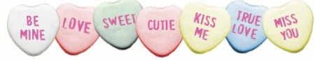 candy hearts~♥