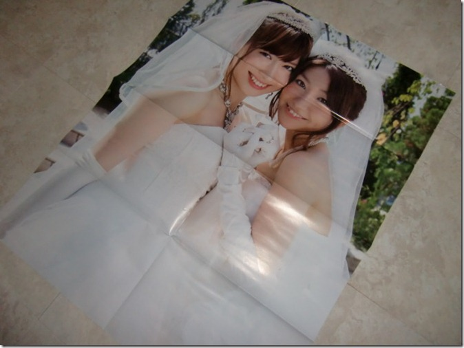 AKB48 in Weekly Playboy 2012.12.15 (2 sided poster)