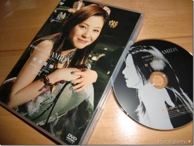 "Matsuura Aya ""Studio Live"" DVD"