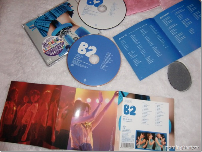 "AKB48 studio album recordings collection (Team B 2nd stage ""Aitakatta"")"