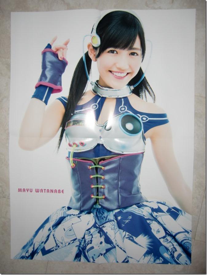 GIRLPOP Winter 2013 large 2 sided Watanabe Mayu poster