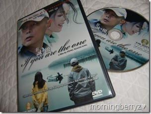 If you are the one DVD