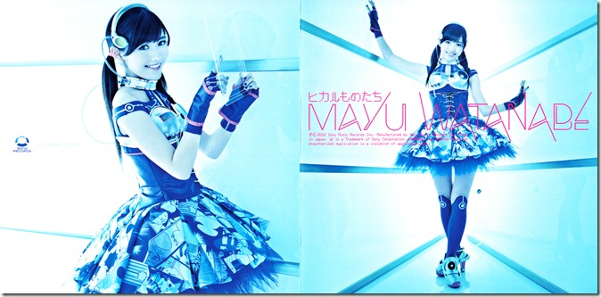 "Watanabe Mayu ""Hikarumonotachi"" Type B single jacket scan"