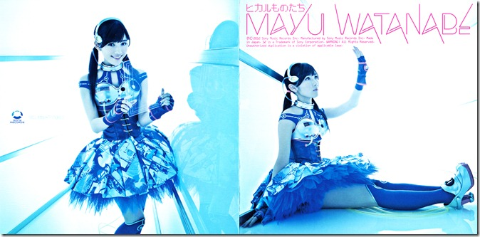 "Watanabe Mayu ""Hikarumonotachi"" Type C single jacket scan"