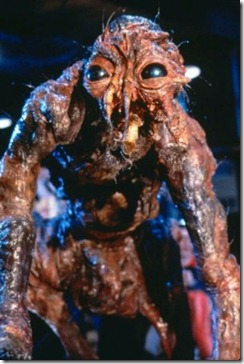Jeff Goldblum as the fly