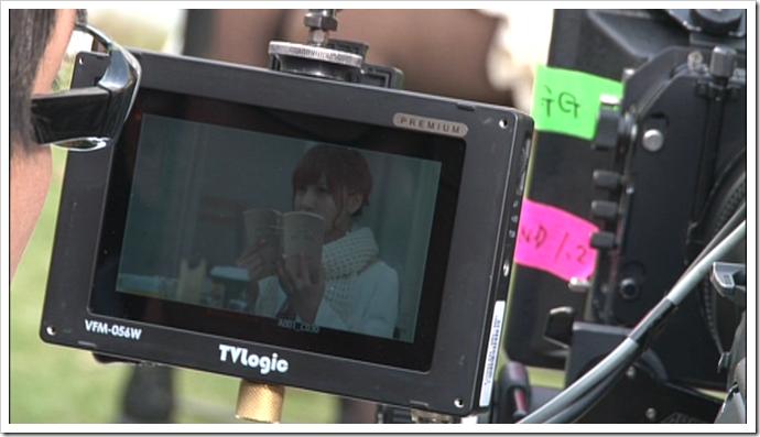 Kasai Tomomi Masaka (music video making) (2)