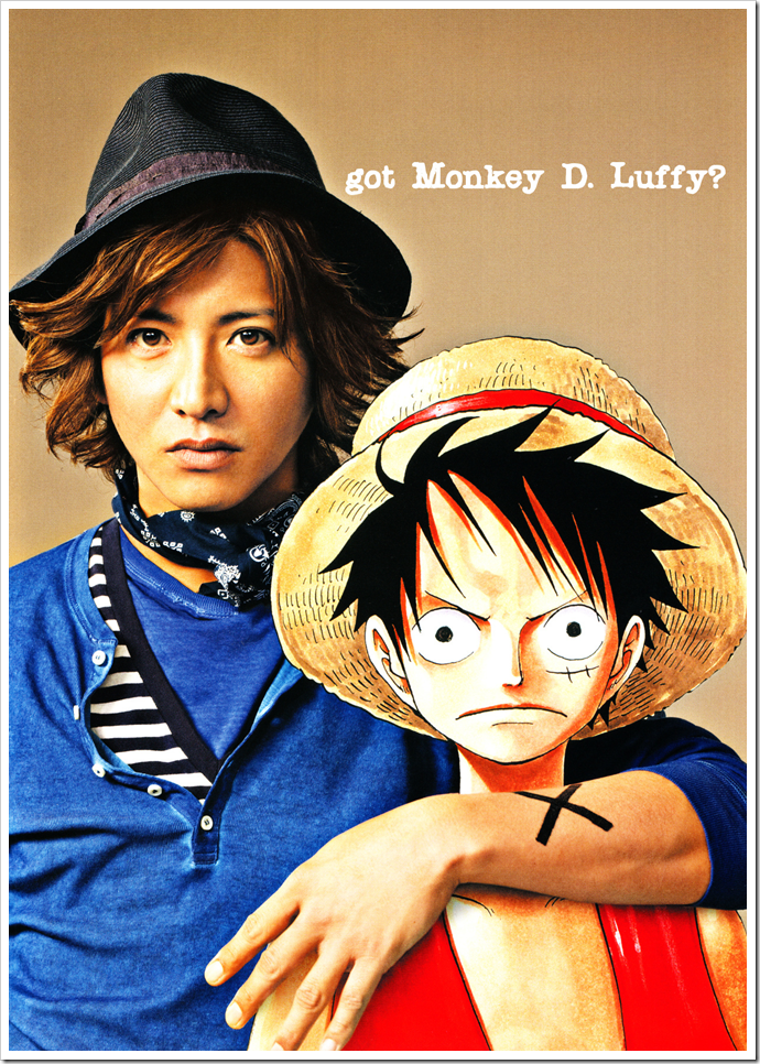 got Monkey D. Luffy?