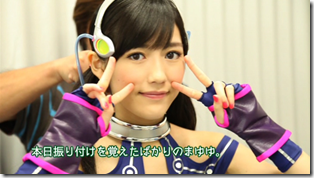 Mayuyu in Hikarumonotachi making of.. (12)