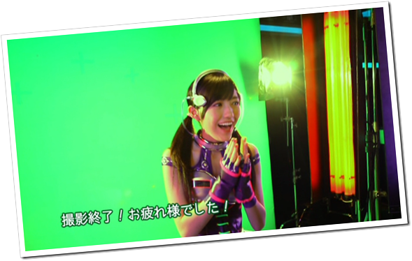 Mayuyu in Hikarumonotachi making of.. (23)