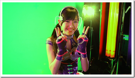 Mayuyu in Hikarumonotachi making of.. (24)