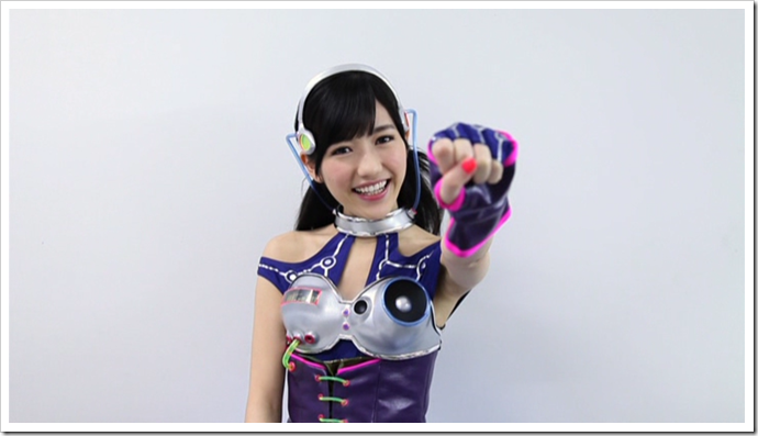 Mayuyu in Hikarumonotachi making of..