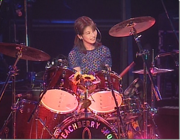 Moritaka Chisato in 1997 Peachberry Show (6)
