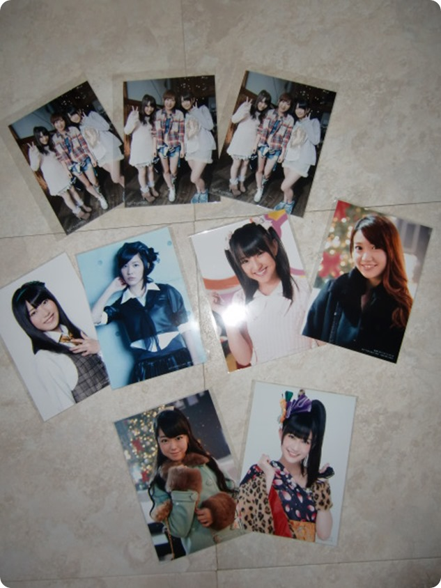 AKB48 Eien Pressure first press Neowing photos with release~randomly inserted member photos
