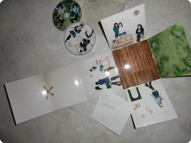 AKB48 Eien Pressure single Type C version featuring craft packaging