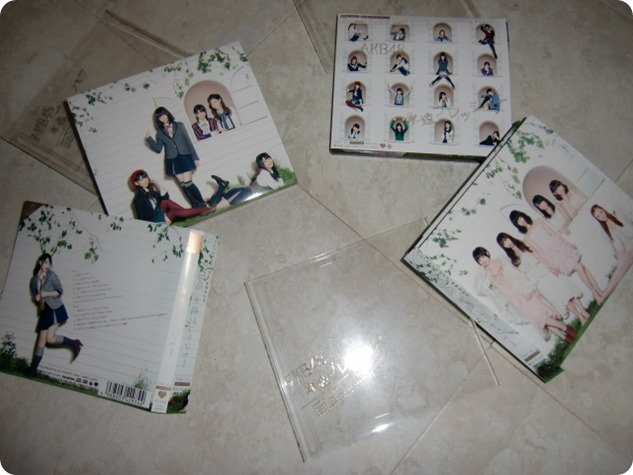 AKB48 Eien Pressure singles type A,B & C